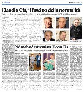 Claudio Cia, il fascino della normalità