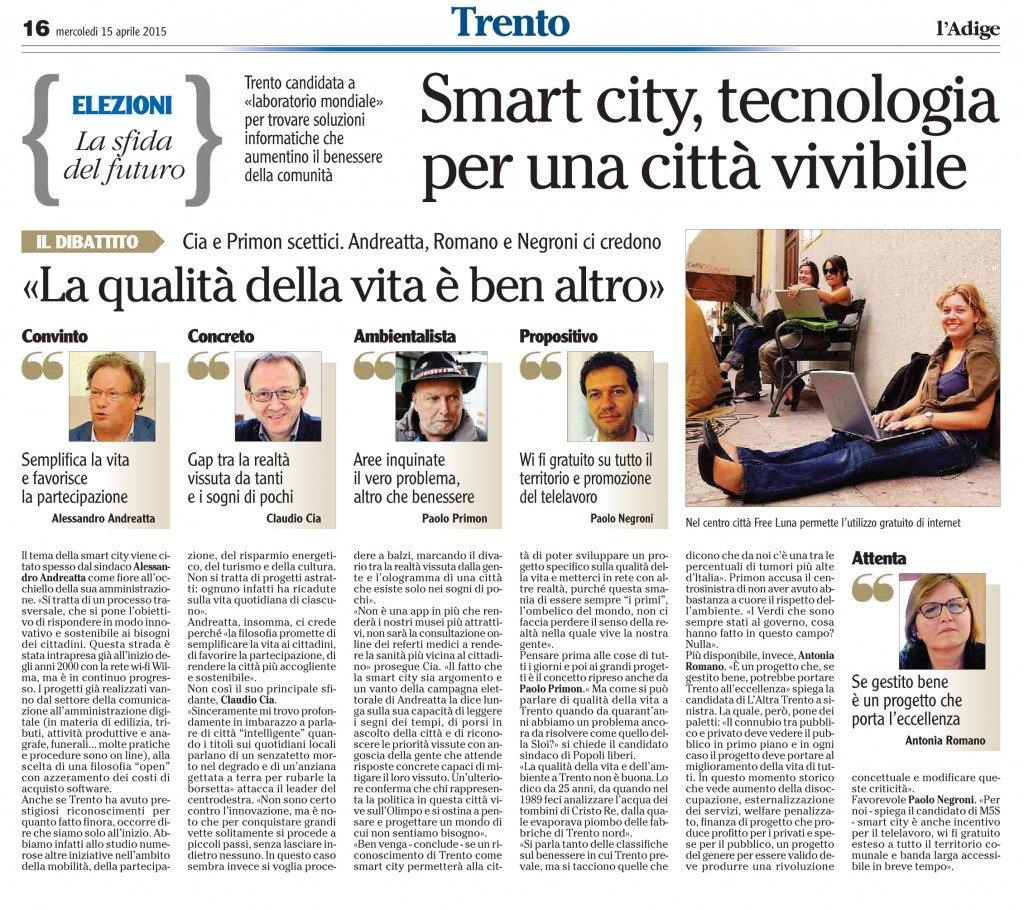 Smart city, la qualità della vita è ben altro