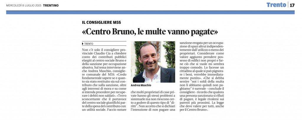 Centro Bruno, le multe vanno pagate