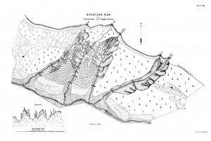 pianta area Piramidi Segonzano