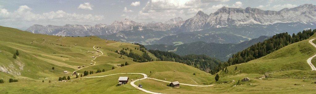 sfalcio dei prati di montagna - Alto Adige
