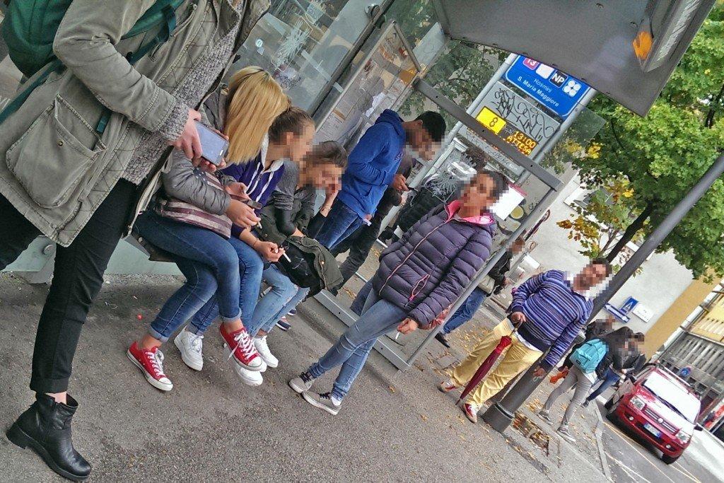 divieto fumo - fermate bus