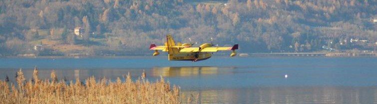 Canadair O Elicottero : Dirigenti provinciali in elicottero per guardare il