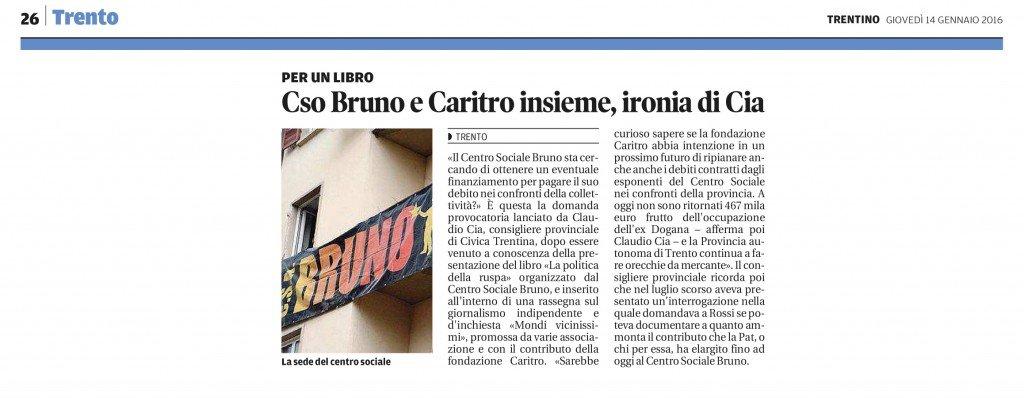 Cso Bruno e Caritro insieme