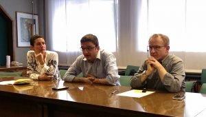 conferenza stampa - opposizione riforma scuola
