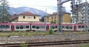 Treno - binari città