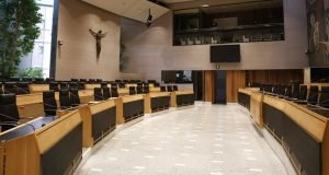 aula Consiglio regionale Bolzano