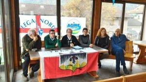 conferenza stampa Pieve Tesino